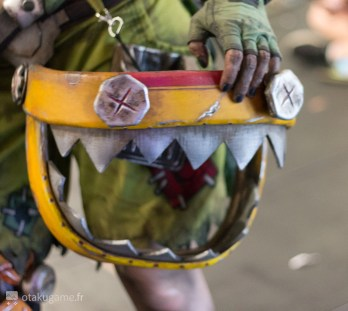 Cosplay Junkrat Gamescom 2017