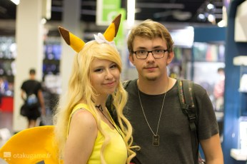 Cosplay Pikachu Gamescom 2017