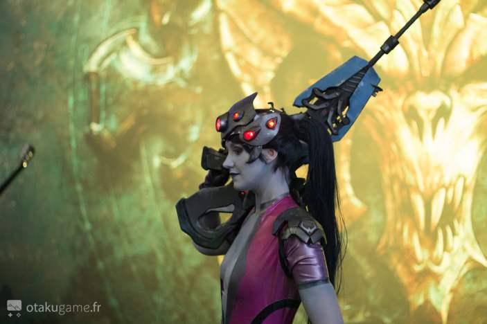Cosplay Widowmaker Gamescom 2017