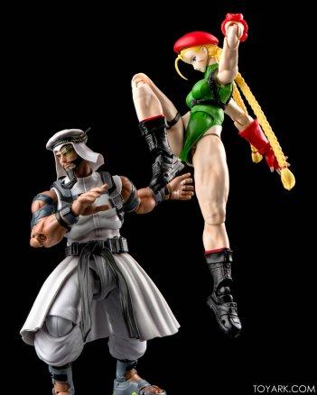 Figurine de Cammy & Rashid (Street Fighter V)