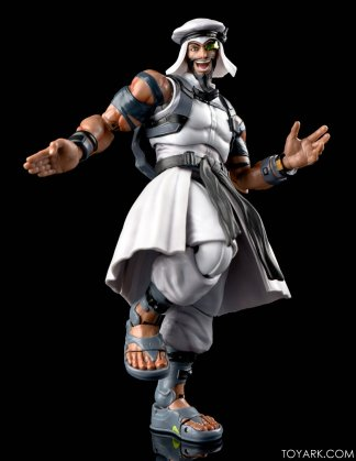 Figurine de Rashid (Street Fighter V)
