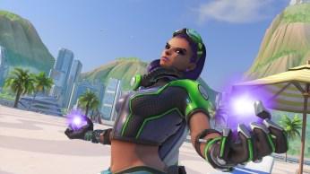 Sombra - Fond d'écran Overwatch jeux d'été 2017 (36)