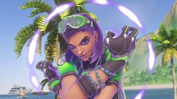 Sombra - Fond d'écran Overwatch jeux d'été 2017 (38)