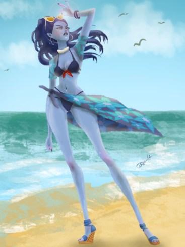 Summer Widowmaker Draw
