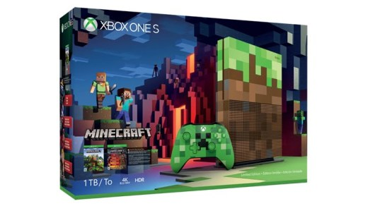 La Xbox One édition collector Minecraft