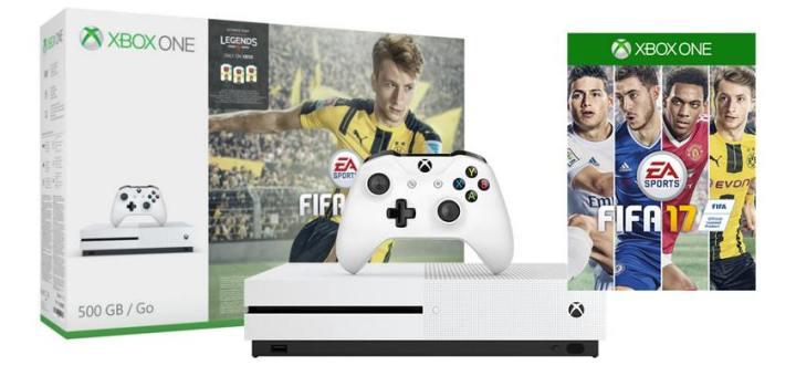 Personnellement, je n'aime pas trop Fifa 17, mais j'avoue que cette offre est canon !