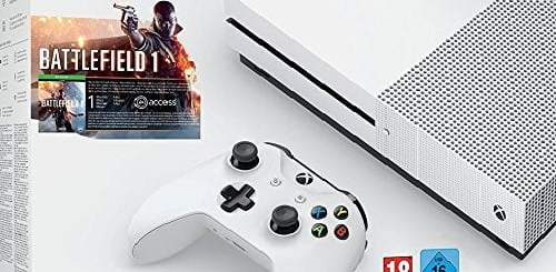La Xbox One S à 199€, avec l'excellent Battlefield 1 !