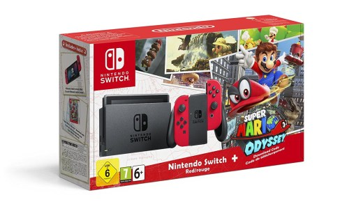 Nintendo Switch en bundle avec Mario Odyssey