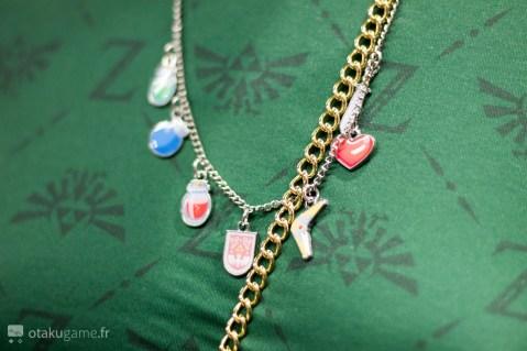 Collier Bioworld Zelda items