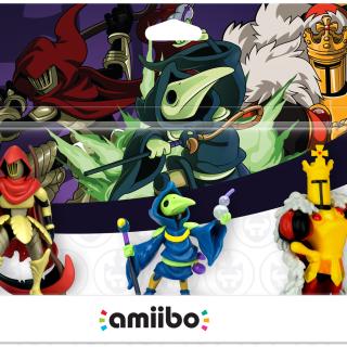 Nouveaux Amiibo Shovel Knight