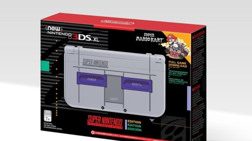 La new 3DS XL édition collector Super Nintendo en version américaine