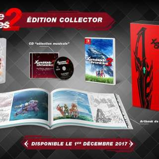 Xenoblade Chronicles 2 en édition collector sur Nintendo Switch !