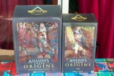 Boîte des Figurines de Aya et Bayek d'Asssassin's Creed Origins