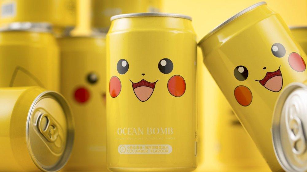 Ocean Bomb Pikachu (en canette)