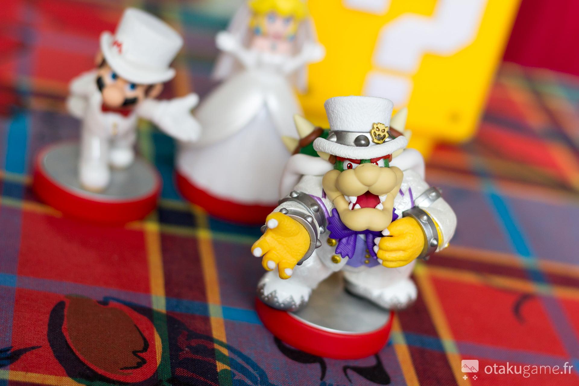 Les Amiibo Mario Odyssey en tenue de mariée sont magnifiques !