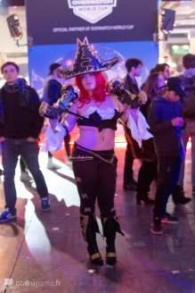 Cosplay de la Paris Games Week 2017
