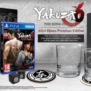 L'édition collector de Yakuza 6 en précommande chez Amazon !