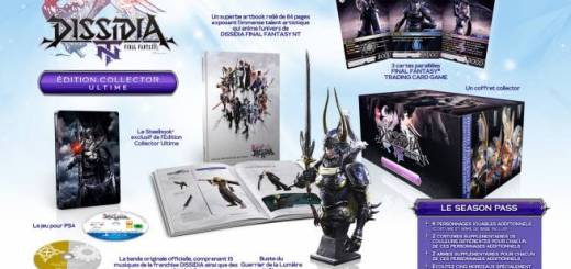 DISSIDIA FINAL FANTASY NT ÉDITION COLLECTOR ULTIME
