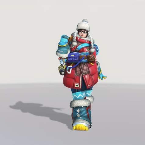 Nouvelle Skin de Mei