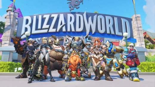 Blizzard World Overwatch