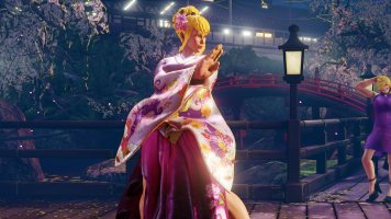 Street Fighter V costume 30th Anniversary Carin