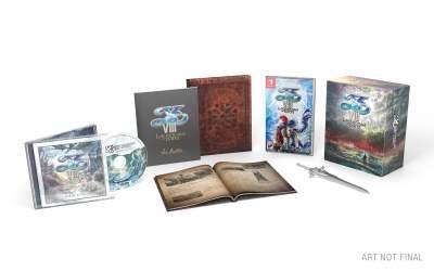 L'édition collector de YS VIII sur Nintendo Switch !