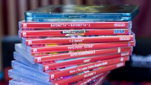 Ma petite collection de jeux physiques sur Nintendo Switch ^^ !