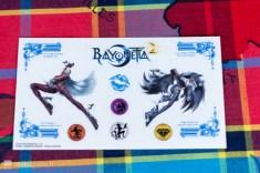 Autocollant du Collector de Bayonetta 2 Nintendo Switch en EuropeCollector de Bayonetta 2 Nintendo Switch en Europe