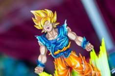 La figurine de de Dragon Ball FighterZ est un régal à photographier !