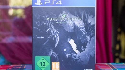 Le collector de Monster Hunter World est quand même bien conséquent !