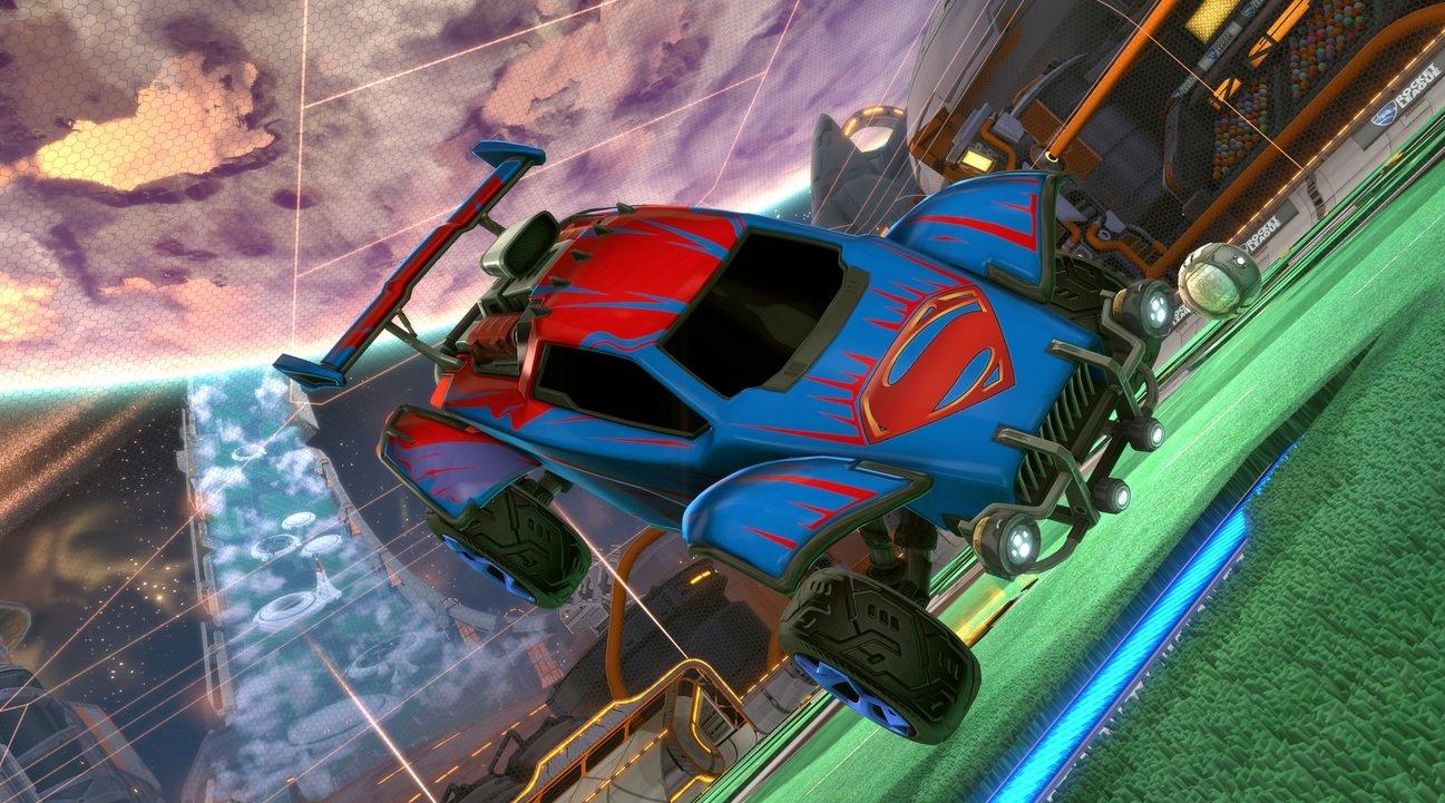 Rocket League DLC DC Comics