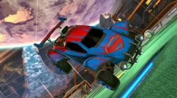 Rocket League DLC DC Comics