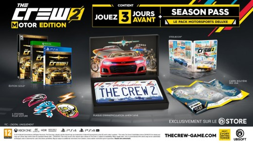 L'édition collector de The Crew 2 !