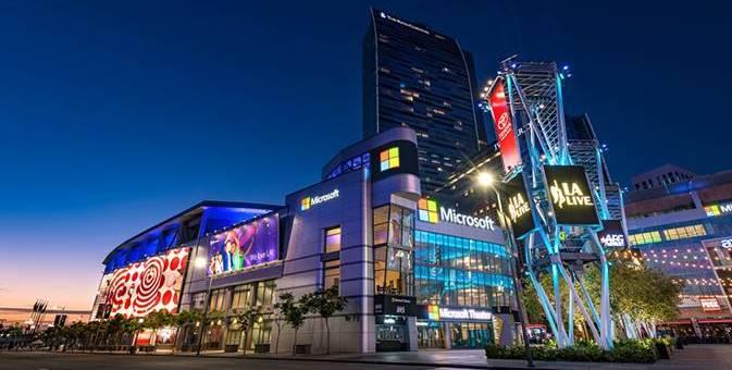 N'empêche qu'il est beau ce Microsoft Theater ! Je ne l'avais jamais vu !