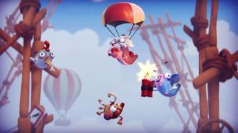 Le jeu du parachute où je m'écrase au sol comme une merde T_T !