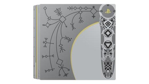 La PS4 Pro édition collector God of War ^^ !