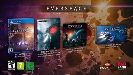 L'édition collector de Everspace en précommande chez Amazon !