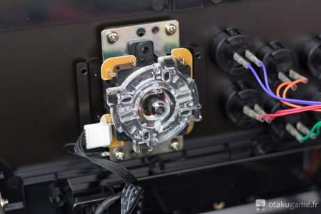 Connexions du Joystick du Stick Arcade Razer Panthera édition Street Fighter V