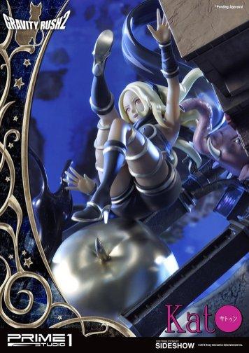 Figurine de Kat dans Gravity Rush 2