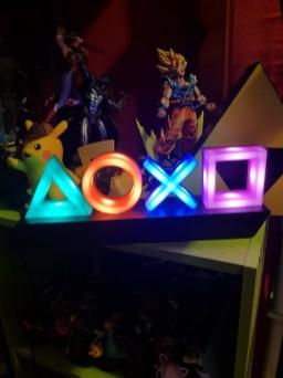 Lampe Playstation symboles