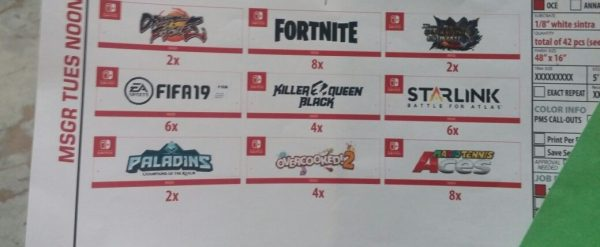 Le second leak de la conférence Nintendo