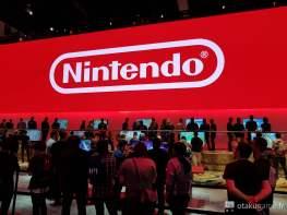 Malgré l'omniprésence de Super Smash Bros, le stand de Nintendo était toujours bondé !