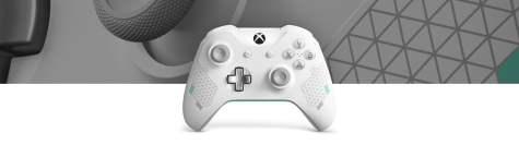 Manette sans fil Xbox – Édition spéciale Sport blanche