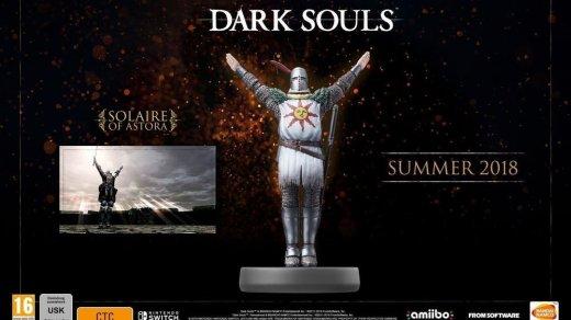 L'Amiibo accompagnant la sortie de Dark Souls Remastered est daté au 31 aout prochain !