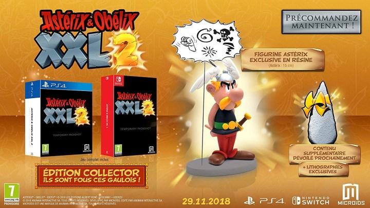 L'édition collector de Astérix & Obélix XXL2