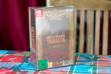 L'édition collector d'Octopath Traveler sur Nintendo Switch