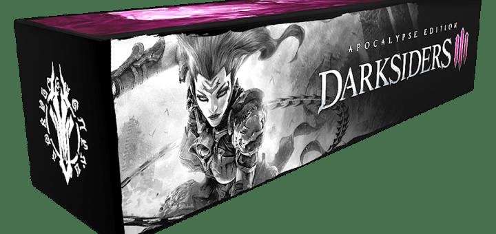 La boîte de DarkSiders III édition Apocalypse mesure plus d'un mètre de long !