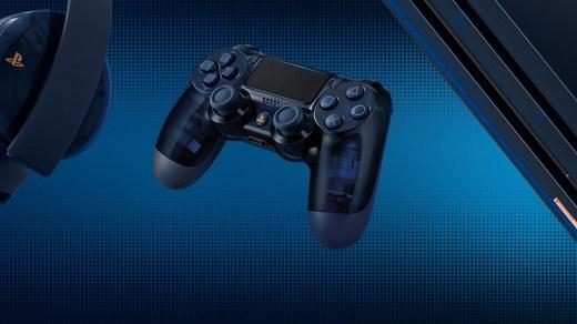La manette de la PS4 Pro 500 millions sera translucide !