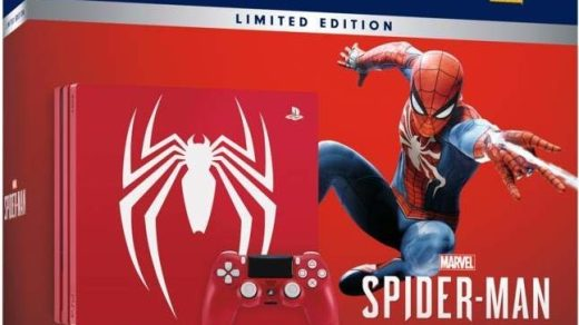 PS4 Pro collector Spider-Man