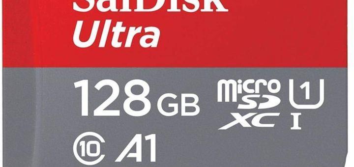 Une carte MicroSD de 128Go compatible Nintendo Switch !